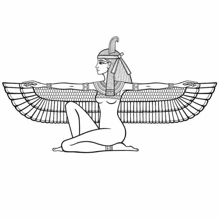 quien es maat mitologia egipcia