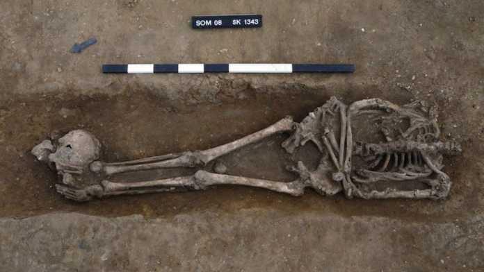 soldados romanos decapitados reino unido