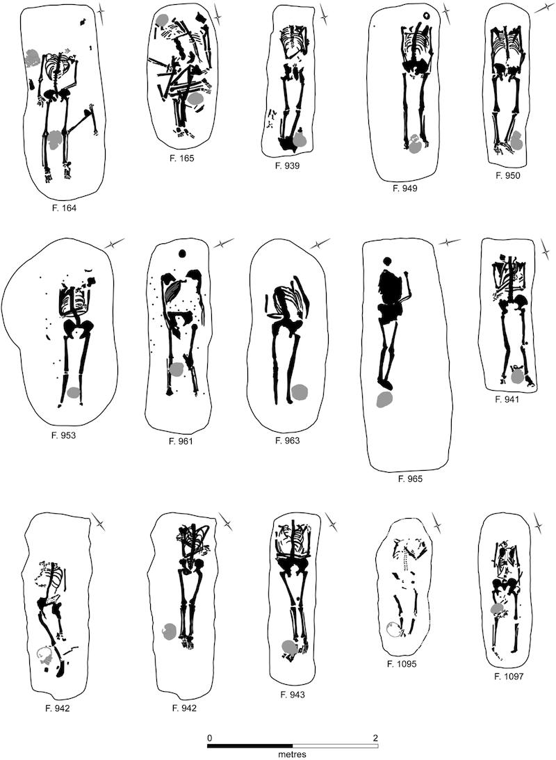 soldados romanos decapitados