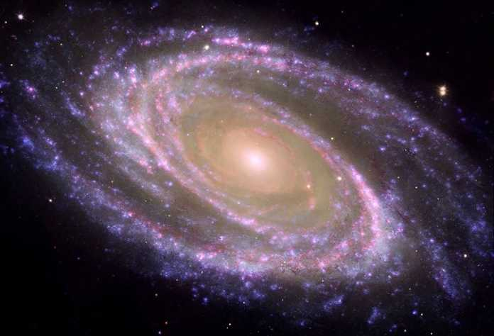nacimiento galaxias espirales