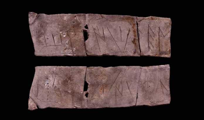 inscripcion iberica arcaica