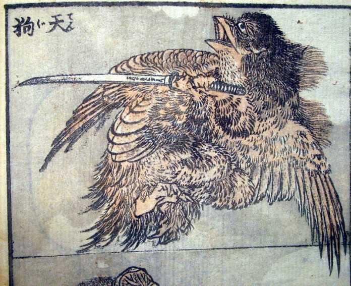 tengu mitologia japonesa