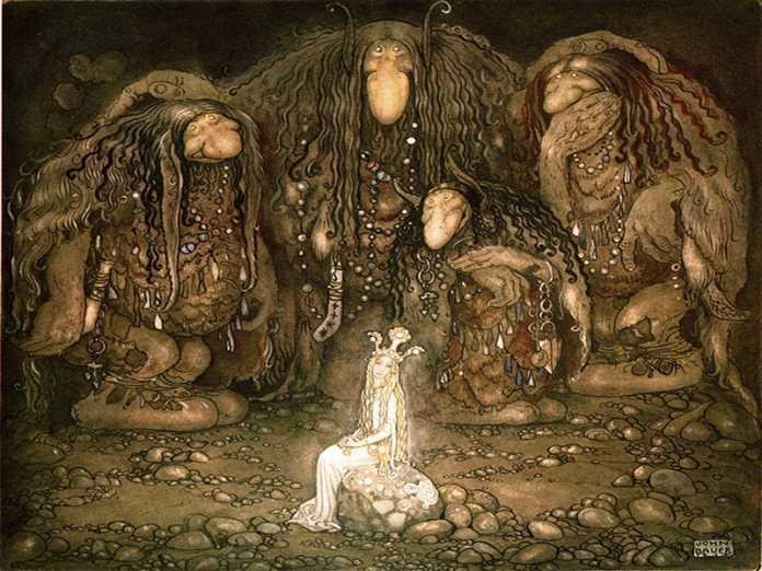 trolls mitologia nordica