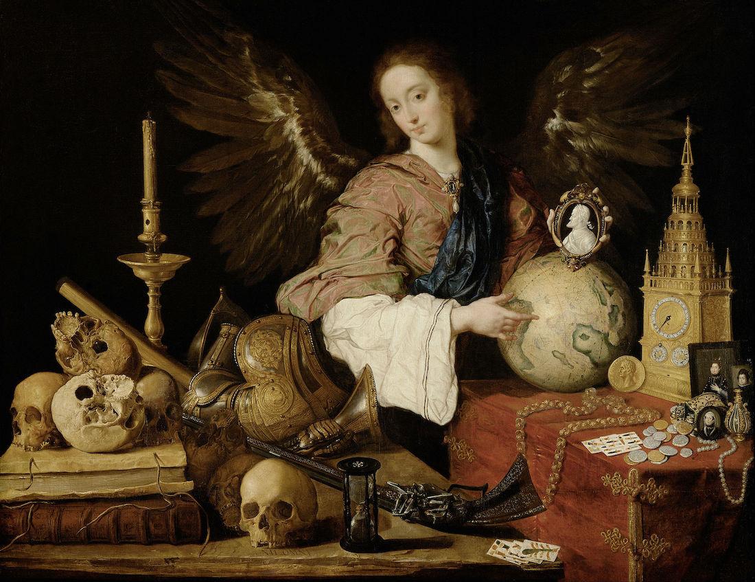 alegoria de la vanidad obra vanitas barroco