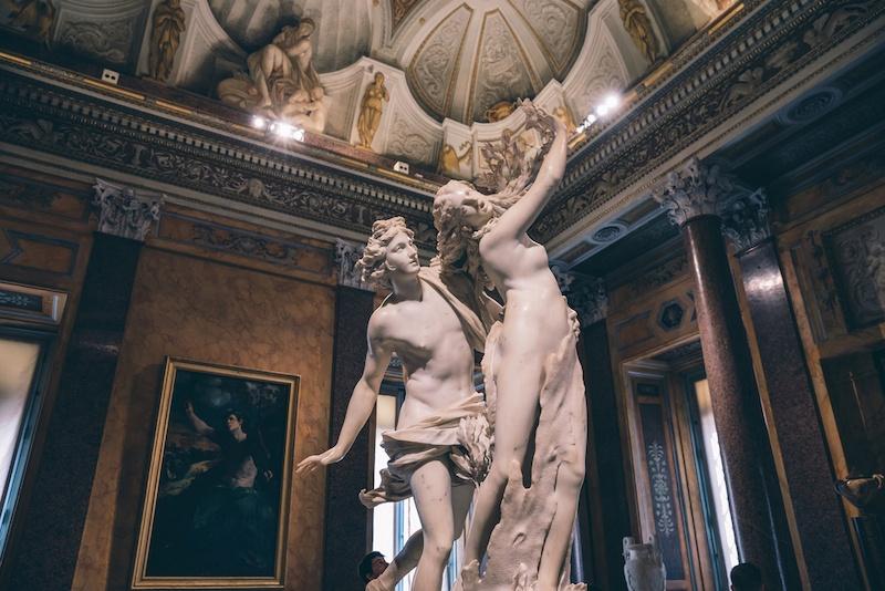 escultura apolo y dafne bernini
