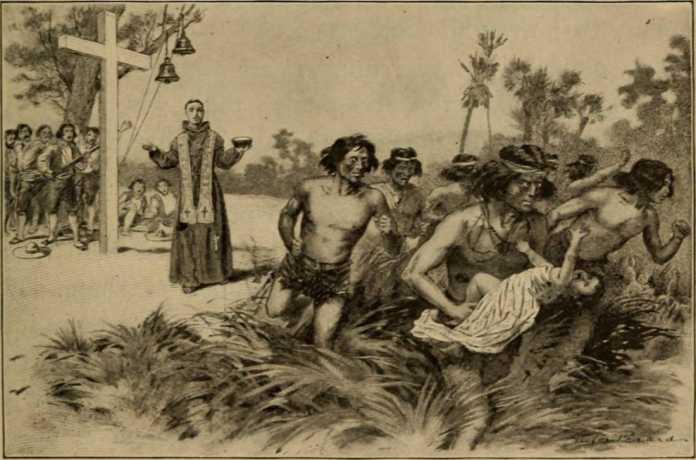 conquista indigenas california
