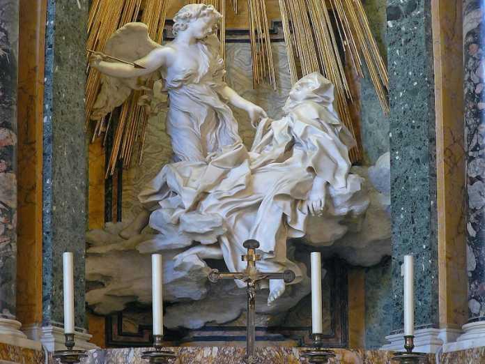 escultura bernini extasis santa teresa