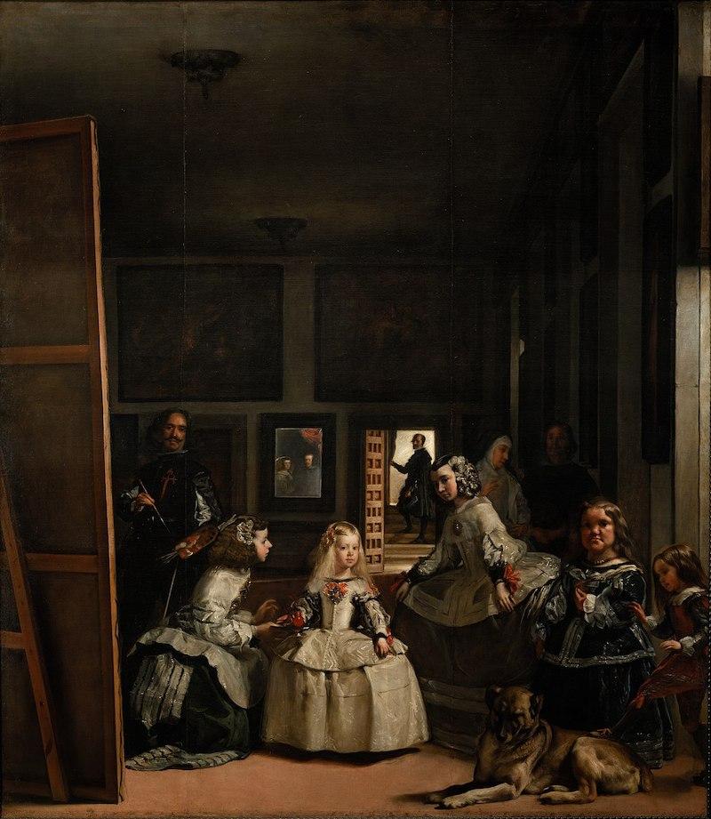 las meninas de velazquez obra barroca