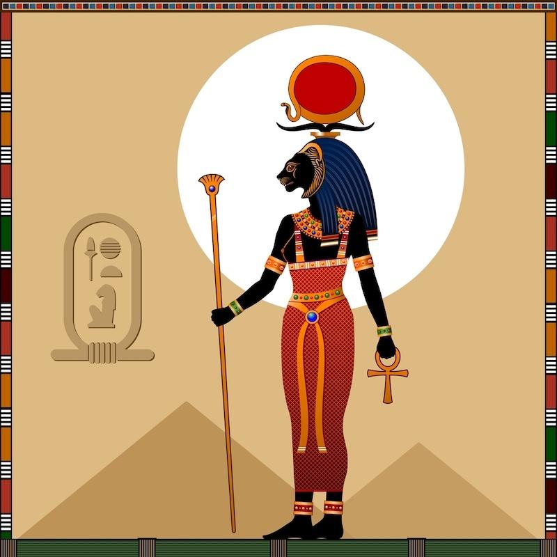 diosa sekhmet mitologia egipcia
