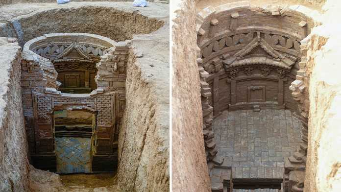 tumbas 700 años china