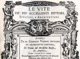 libro Las vidas de los más excelentes pintores, escultores y arquitectos de Giorgio Vasari