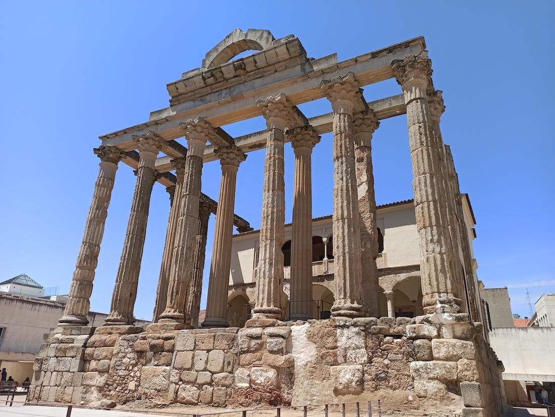 templo romano diana merida