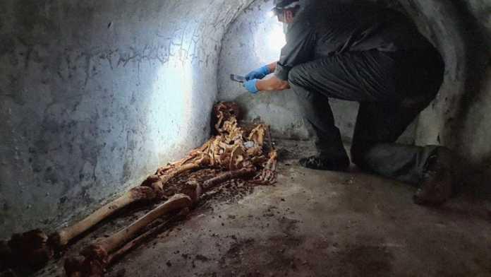 momia romano pompeya