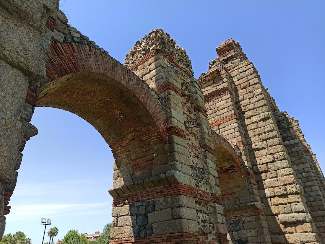 acueducto romano de merida detalle