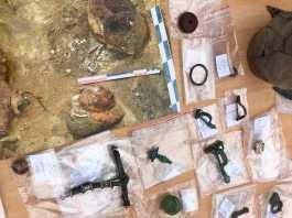 objetos romanos encontrados en rusia