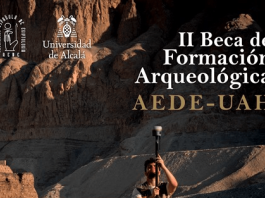 beca arqueologia egipto 2021
