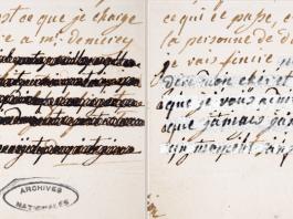 analisis cartas maria antonieta